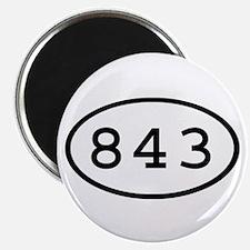 843 Oval Magnet