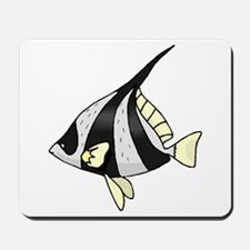 Striped Angel Fish Mousepad