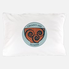Groovy And Glazed Pillow Case
