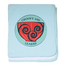 Groovy And Glazed baby blanket