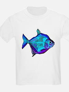 Silver Dollar Fish T-Shirt