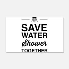Save Water Shower Together Wall Decal