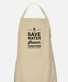 Save Water Shower Together Apron