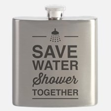 Save Water Shower Together Flask