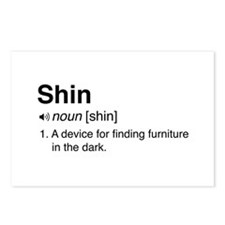 Shin Definition Postcards (Package of 8)
