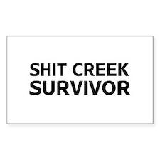 Shit Creek Survivor Decal