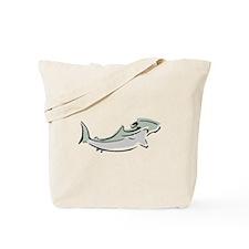 Abstract Hammerhead Shark Tote Bag