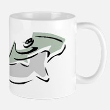 Abstract Hammerhead Shark Mugs