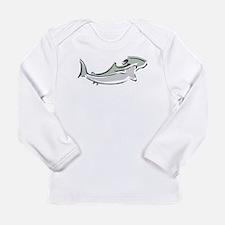 Abstract Hammerhead Shark Long Sleeve T-Shirt