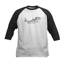 Abstract Hammerhead Shark Baseball Jersey
