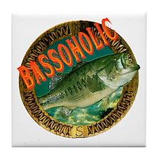 Bassoholic Tile Coaster