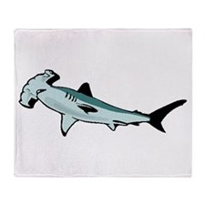 Hammerhead Shark Throw Blanket