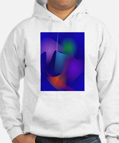 Abstract Objects in the Blue Room Hoodie