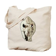 Realistic Rhinoceros Tote Bag