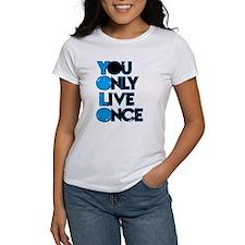 YOLO Blue T-Shirt