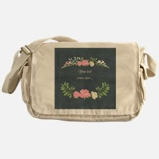 Vintage Roses Messenger Bag