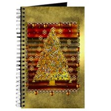 Metal Art Holiday Tree Journal