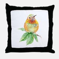 Rufous Hummingbird Watercolor Bird Nature Art Thro