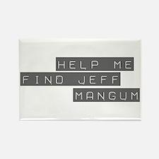 Jeff Mangum Rectangle Magnet