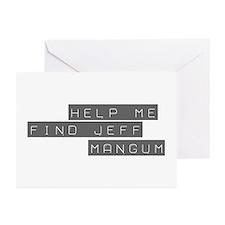Jeff Mangum Greeting Cards (Pk of 10)