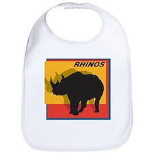 Rhinos Bib
