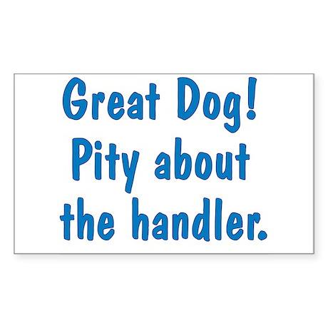 Great Dog Sticker (Rectangle)