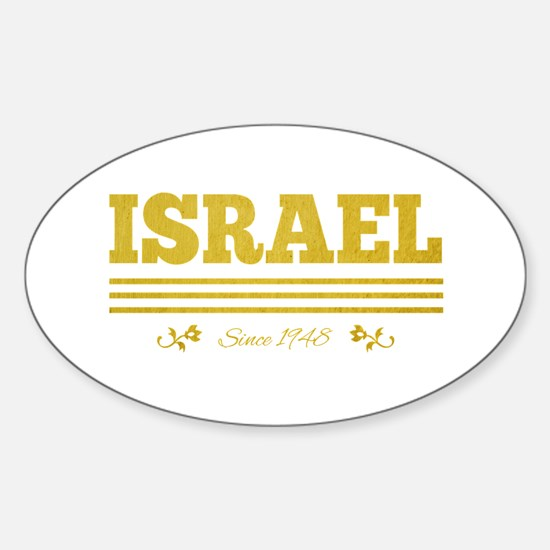 vintage golden Israel since 1948 Decal