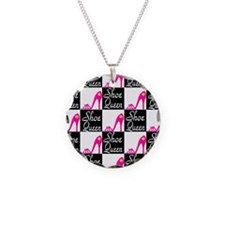 SHOE LOVER Necklace Circle Charm