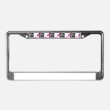 SHOE LOVER License Plate Frame