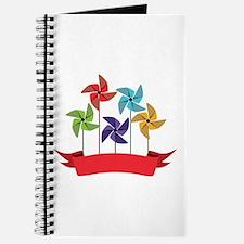 Pinwheel Banner Journal