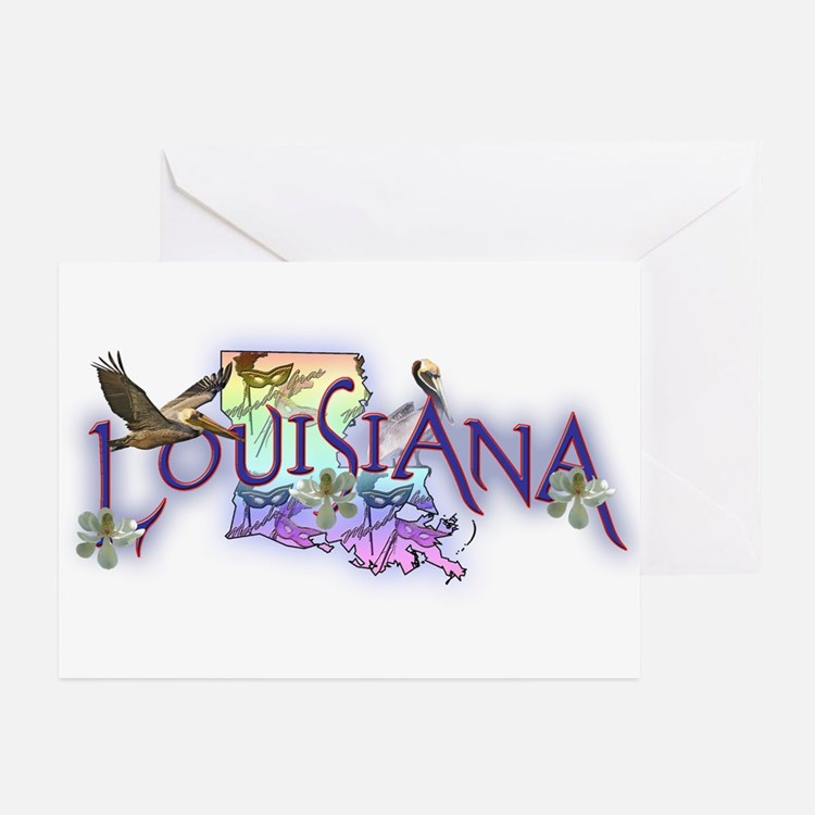 Louisiana Greeting Cards (Pk of 10)