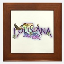 Louisiana Framed Tile