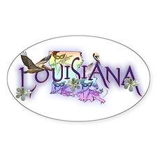 Louisiana Oval Decal