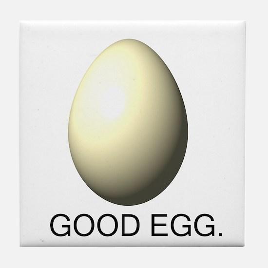 Cute Egg Tile Coaster