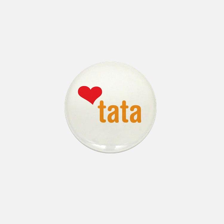 volim tata (I love dad) Mini Button