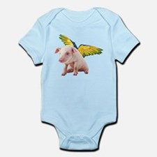 Pigs Fly Body Suit
