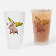Unique Angry birds pig soldier pig Drinking Glass