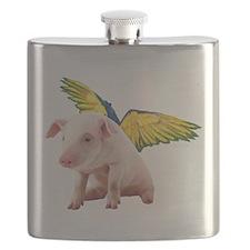 Unique Bacon book Flask