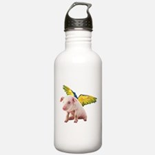 Unique Pig bird Water Bottle