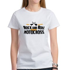 Rock and Roll Motocross Tee
