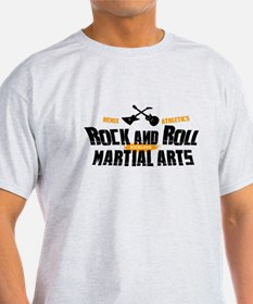 Rock and Roll Martial Arts T-Shirt