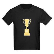 #1 Gold Trophy T-Shirt