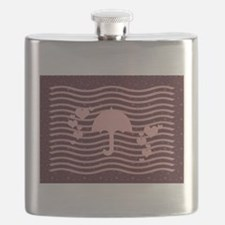 Unique Baby girl thank you Flask
