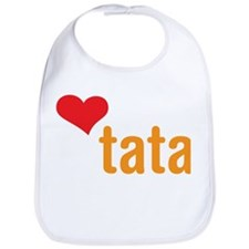 volim tata (I love dad) Bib