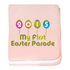 Baby's First Easter Parade baby blanket