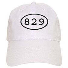 829 Oval Baseball Cap