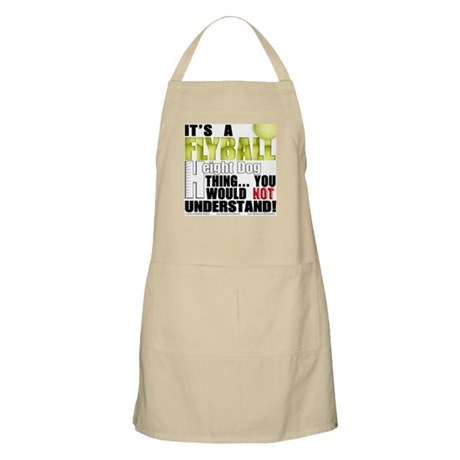 Flyball Height Dog Thing BBQ Apron
