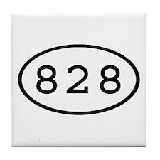 828 Oval Tile Coaster