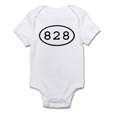 828 Oval Infant Bodysuit