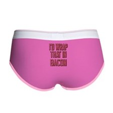 Vintage I'd wrap that in bacon Women's Boy Brief